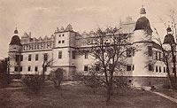 Zamek w Baranowie Sandomierskim - Widokówka z 1931 roku