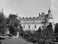 Baranów Sandomierski - Zamek w Baranowie na zdjęciu Natana Kriegera z 1900 roku