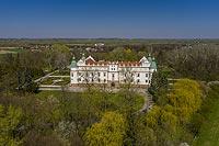 Zamek w Baranowie Sandomierskim - Zdjęcie lotnicze, fot. ZeroJeden, IV 2021