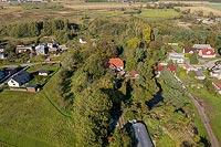 Baranów - Zdjęcie lotnicze, fot. ZeroJeden, X 2019