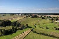 Zamek w Bezławkach - Zdjęcie lotnicze, fot. ZeroJeden, IX 2021