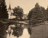 Zamek w Białej Nyskiej - Robert Weber, Schlesische Schlosser, 1909