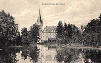 Zamek w Białej Nyskiej - Zamek w Białej Nyskiej na zdjęciu z okresu międzywojennego