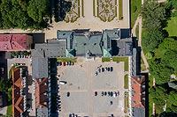 Zamek w Białymstoku - Zdjęcie z lotu ptaka, fot. ZeroJeden, VI 2019