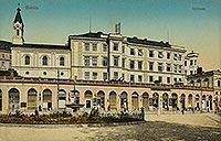 Zamek w Bielsku - Zamek w Bielsku w 1911 roku