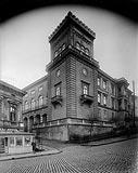 Zamek w Bielsku - Zamek w Bielsku na zdjęciu z okresu międzywojennego