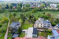 Zamek w Bieruniu - Zdjęcie z lotu ptaka, fot. ZeroJeden, V 2020