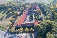 Zamek w Bierzgłowie - Zdjęcie lotnicze, fot. ZeroJeden, X 2018