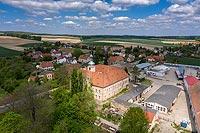 Zamek w Bobolicach - Zdjęcie z lotu ptaka, fot. ZeroJeden, V 2020