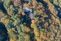 Zamek w Bochotnicy - Zdjęcie lotnicze, fot. ZeroJeden, X 2018