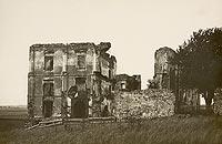 Zamek w Bodzentynie - Ruiny w Bodzentynie na zdjęciu Zdzisława Marcinkowskiego z 1932 roku