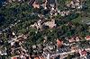 Zamek w Bolkowie - Widok z lotu ptaka od południowego-wschodu, fot. ZeroJeden, X 2013