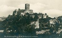 Zamek w Bolkowie - Zamek w Bolkowie w początkach XX wieku