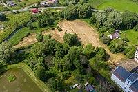 Zamek w Bratianie - Zdjęcie lotnicze, fot. ZeroJeden, VII 2020