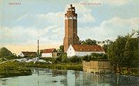 Zamek w Brodnicy - Zamek w Brodnicy na pocztówce z około 1920 roku