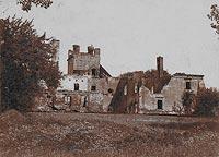 Brok - Dwór w Broku na zdjęciu Edwarda Barbiera z 1904 roku