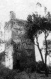 Zamek w Broku - Dwór w Broku na fotografii z okresu międzywojennego
