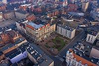Zamek w Bytomiu - fot. ZeroJeden, XII 2020