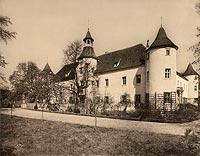 Zamek w Chobieni - Robert Weber, Schlesische Schlosser, 1909