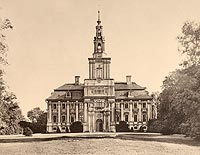 Zamek w Chocianowie - Robert Weber, Schlesische Schlosser, 1909