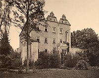 Zamek w Chocianowcu - Robert Weber, Schlesische Schlosser, 1909