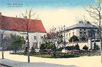 Chojnów - Zamek w Chojnowie z zdjęciu z lat 20. XX wieku