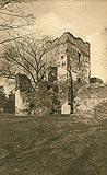 Zamek w Chudowie - Zamek w Chudowie w okresie międzywojennym