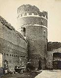 Zamek w Ciechanowie - Zamek w Ciechanowie na zdjęciu Zygmunta Rokowskiego z około 1910 roku