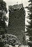 Zamek w Cieszynie - Wieża Piastowska na widokówce z lat 30. XX wieku