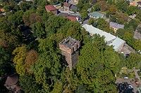Zamek w Cieszynie - Zdjęcie lotnicze, fot. ZeroJeden, IX 2019