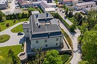 Dwór w Czańcu - Zdjęcie z lotu ptaka, fot. ZeroJeden, V 2020