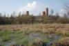 Zamek w Czersku - Widok od południa, fot. ZeroJeden, IV 2005