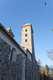 Klasztor w Czerwińsku nad Wisłą - Północna wieża kościoła klasztornego, fot. ZeroJeden, III 2012