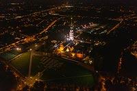 Klasztor na Jasnej Górze w Częstochowie - Zdjęcie lotnicze, fot. ZeroJeden, IX 2019