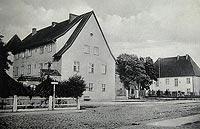 Zamek w Dąbrównie - Zamek w Dąbrównie na fotografii z lat 30. XX wieku