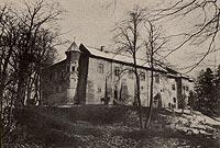 Zamek w Dębnie - Zamek w okresie międzywojennym