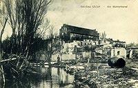 Działdowo - Zamek w Działdowie w latach 20. XX wieku