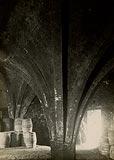 Zamek w Działdowie - Wnętrza zamku w Działdowie na zdjęciu z lat 1916-24