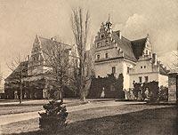 Dwór w Dziewinie - Robert Weber, Schlesische Schlosser, 1909
