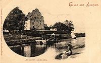 Zamek w Giżycku - Zamek w Giżycku na zdjęciu z 1910 roku