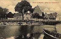 Zamek w Giżycku - Zamek w Giżycku w okresie międzywojennym
