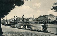 Zamek w Głogowie - Głogów w okresie międzywojennym