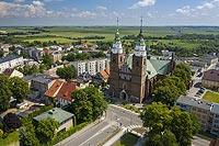 Zamek w Głubczycach - Zdjęcie lotnicze, fot. ZeroJeden, VI 2021