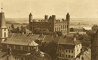 Zamek w Gniewie - Zamek po pożarze z 1921 roku