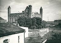 Zamek w Gniewie - Zamek w Gniewie na zdjęciu z lat 30. XX wieku