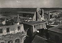 Zamek w Golubiu-Dobrzyniu - Zamek w Golubiu na zdjęciu Adama Lenkiewicza z 1939 roku