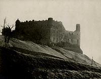 Zamek w Golubiu-Dobrzyniu - Zamek w Golubiu na zdjęciu z lat 1916-24 roku