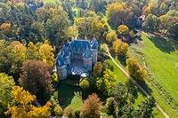 Zamek w Gołuchowie - Zdjęcie lotnicze, fot. ZeroJeden, X 2019