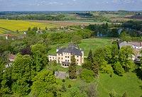 Zamek w Grodźcu - Zdjęcie z lotu ptaka, fot. ZeroJeden, V 2020