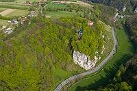 Zamek w Grodzisku - Widok z lotu ptaka, fot. ZeroJeden, V 2020